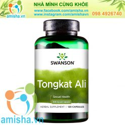 Tongkat Ali Swanson 400mg 120 viên USA